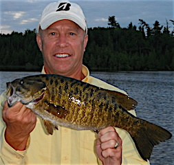 Super Trophy Smallmouth Bass Fishing at Fireside Lodge by Ron